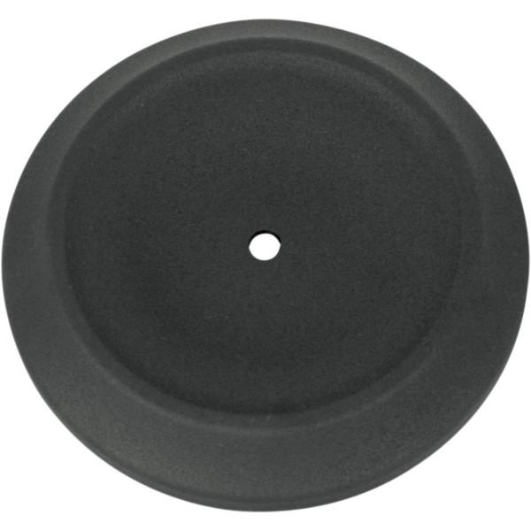 S&S Cover Bobber Dished Schwarz Wrinkle für Luftfilter Anbaukit