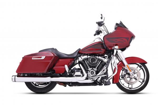 "Rinehart Auspuff Slip-on 4,5"" Harley Milwaukee-Eight® FLH / FLT 117"" 2018- mit EG-ABE chrom/chrom"