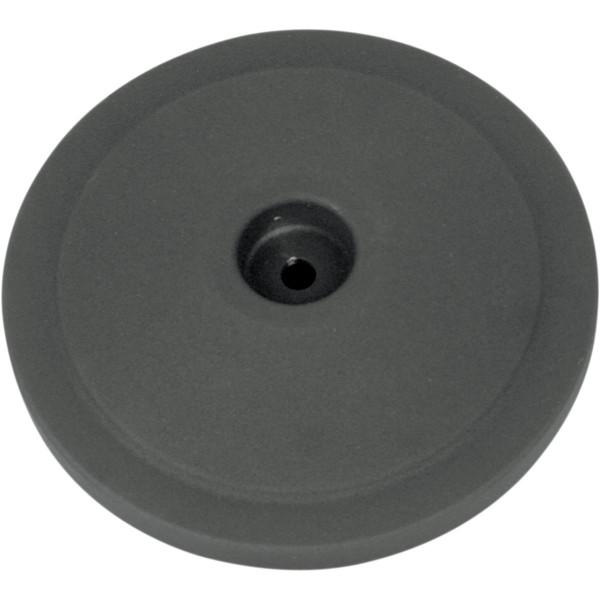 S&S Cover Bobber Domed Schwarz Wrinkle für Luftfilter Anbaukit